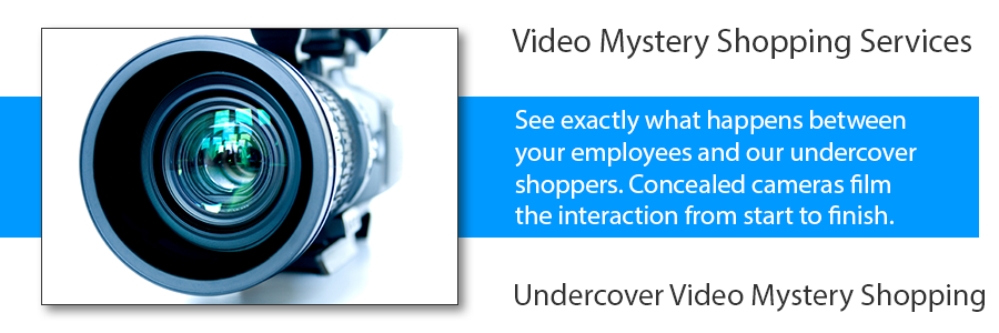 video mystery shopping services video mystery shopping video secret shopper
