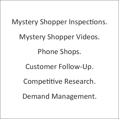 mystery shopping services mystery shopping company