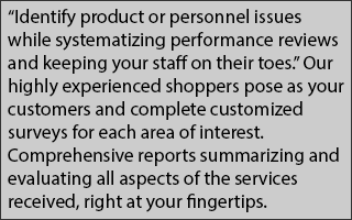 Identify product or personnel issues